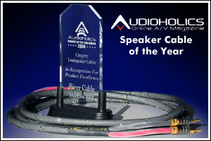 Starflex SPX was Audioholics Speaker Cable of the year